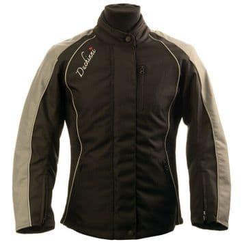 Duchinni Tess Ladies Waterproof Motorcycle Motorbike Textile Jacket