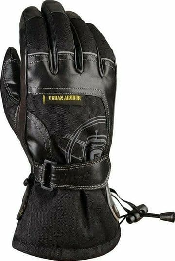 G-MAC Pilot Waterproof Leather Textile Motorcycle Motorbike Scooter Glove