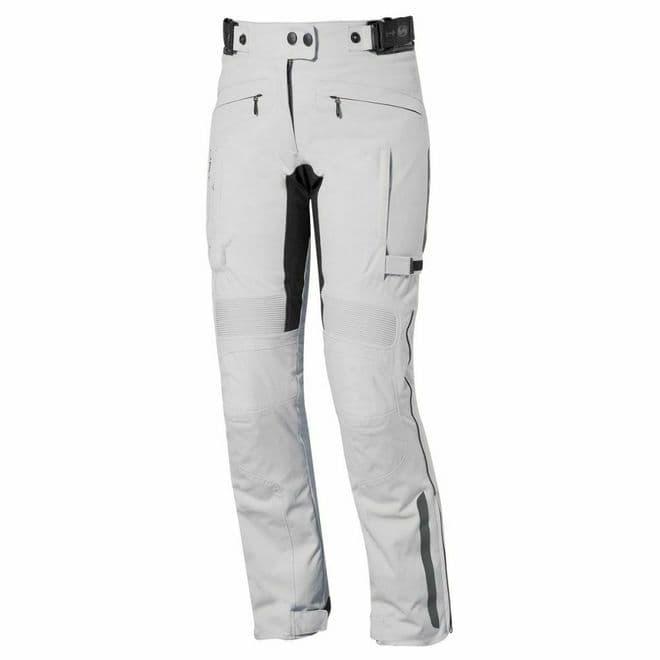 Held Acona Ladies Textile CE SASTEC armour Motorcycle Motorbike Jeans Pants Grey