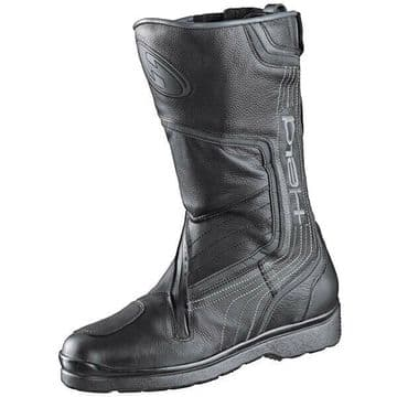 Held Conan Waterproof Motorcycle Motorbike Leather Touring Boots - Black