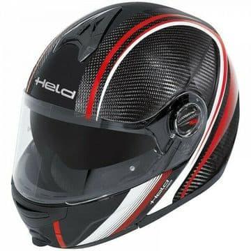 Held CT-1200 Carbon Fiber Modular Flip Front Motorcycle Motorbike Helmet - XS