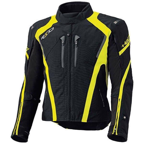 Held Imola 2 II Waterproof Gore-Tex Motorcycle Motorbike Jacket - Black / Fluo