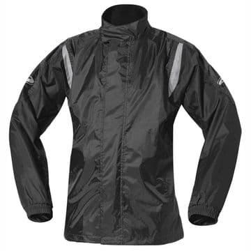 Held Mistral II 2 Waterproof Motorcycle Motorbike Rain Over Jacket - Black