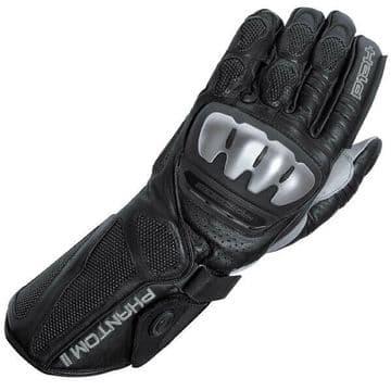 Held Phantom II Leather Motorcycle Motorbike Race Glove Black