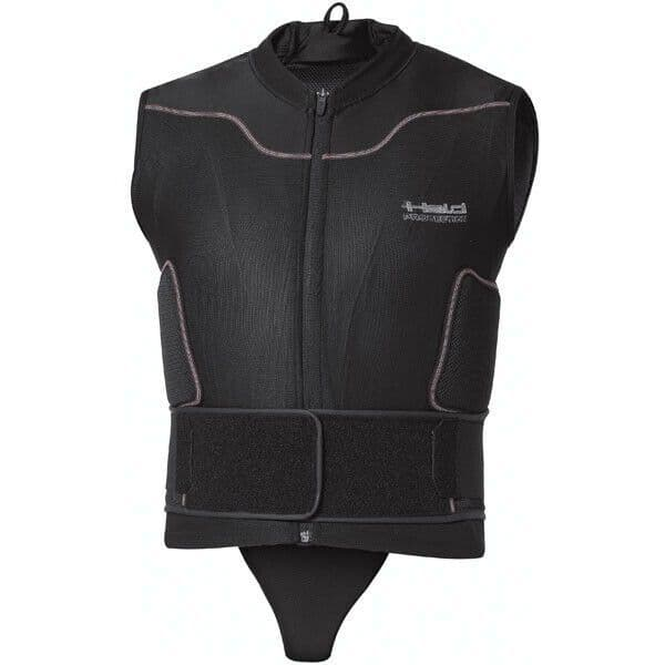 Held Rank Protector Waistcoat Motorcycle Motorbike Body Armour - Black - XL