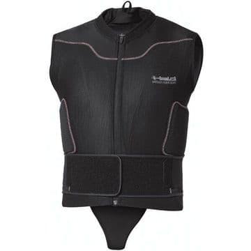 Held Rank Protector Waistcoat Motorcycle Motorbike Body Armour - Black - XL