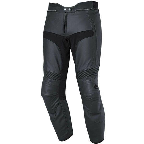 Held Turn Leather Sports Motorcycle Motorbike Pants Trousers Jeans - Black