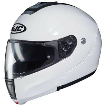 HJC C90 Flip Front Modular Motorcycle Helmet Gloss White NEW 2019