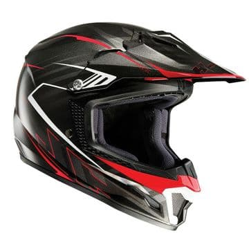 HJC CL-XY II Blaze Red Child's Youth Motorcycle Offroad Moto X Helmet