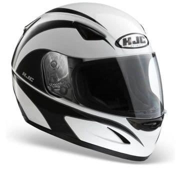 HJC CS-14 Wolfbane White Black Full Face Motorcycle Motorbike Helmet XS