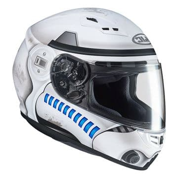HJC CS-15 Star Wars Storm Trooper Full Faced Motorcycle Motorbike Helmet