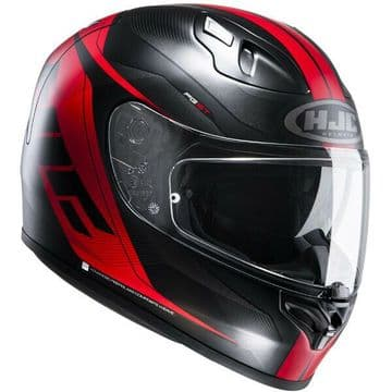 HJC FG-ST Crono - Black / Red Motorcycle Motorbike Sports Touring Helmet