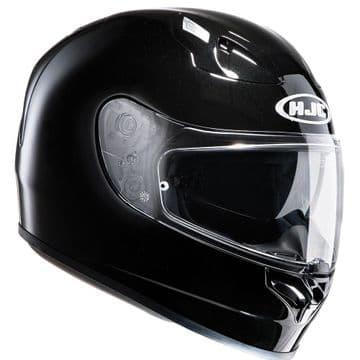 HJC FG-ST Full Face Motorcycle Helmet Gloss Black - XS S - Free Pinlock