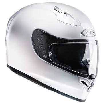 HJC FG-ST Full Face Motorcycle Helmet Gloss White - Free Pinlock