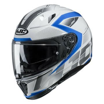 HJC I70 Asto Blue Full Face Motorcycle Motorbike Helmet Medium - New for 2019