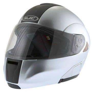 HJC IS-MAX Flip Front Motorcycle Motorbike Helmet Matt Silver - XS
