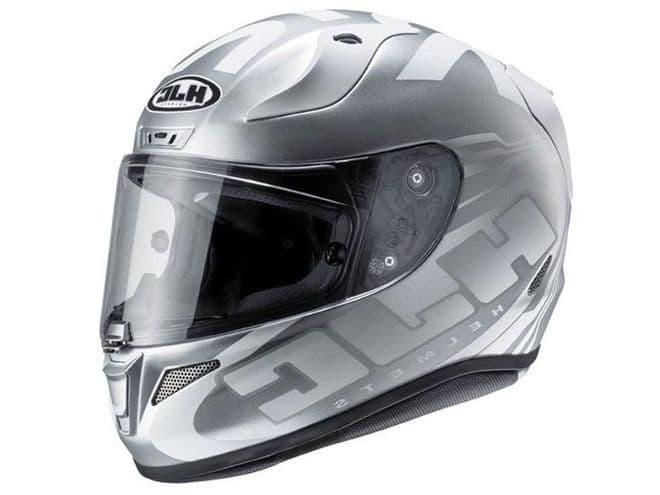 HJC RPHA 11 Eridano Silver White MC5SF Full Face Motorcycle Helmet Pinlock inc