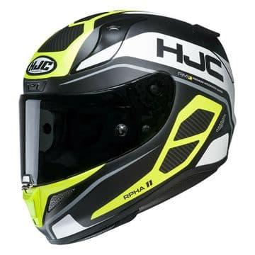 HJC RPHA 11 Saravo Fluo Full Face Motorcycle Motorbike Helmet Pinlock 2 Visors