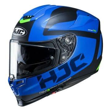HJC RPHA 70 Balius Blue Motorcycle Motorbike Full Helmet Free Pinlock