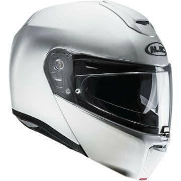 HJC RPHA 90 Pearl White Ryan Flip Front Motorcycle Motorbike Full Face Helmet