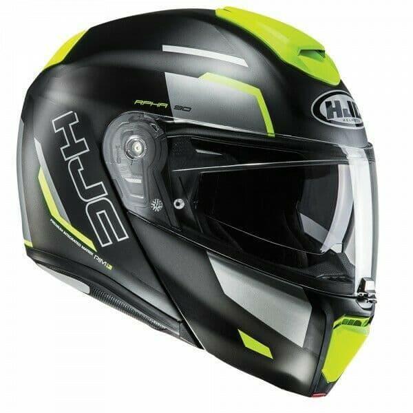 HJC RPHA 90 Rabrigo Fluo MC4HSF Flip Front Motorcycle Motorbike Full Face Helmet