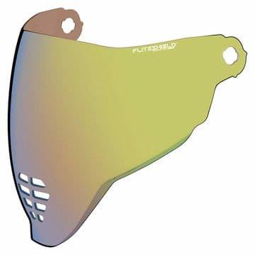 Icon Airflite Fliteshield Genuine Replacement Anti-fog Visor RST Gold Iridium
