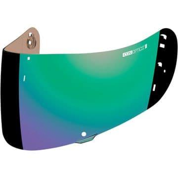 Icon Optics IC-04 Airframe Pro Airmada Airform Helmet Visor Green Iridium