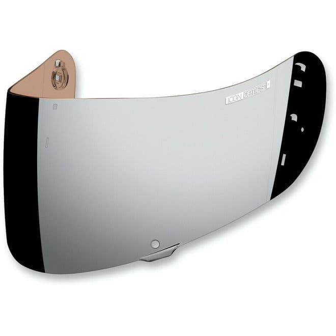 Icon Optics IC-04 Airframe Pro Airmada Airform Helmet Visor Silver Iridium
