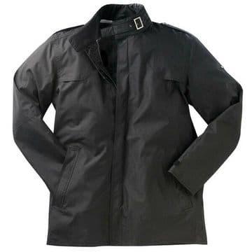 Ixon Beaubourg Textile Waterproof Scooter Motorcycle Motorbike Jacket - Black
