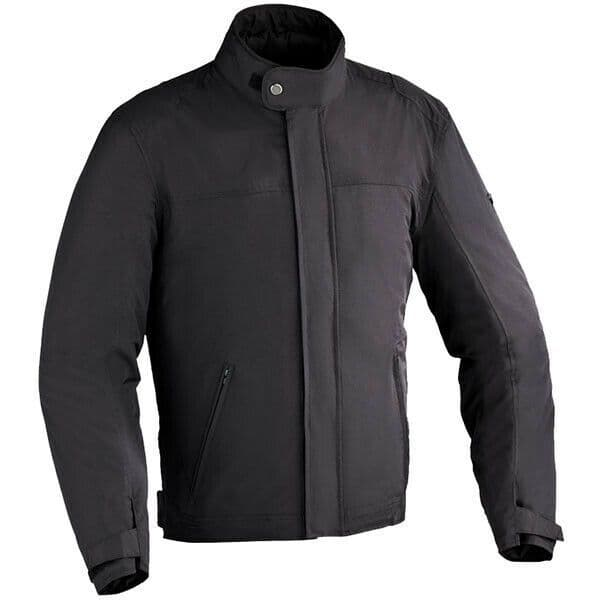 Ixon Eaton Short Urban Motorcycle Motorbike Textile CE Armoured Jacket - Black