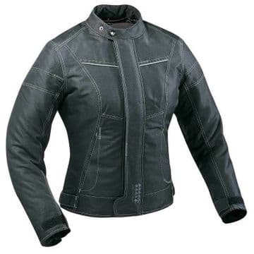Ixon Pollen Ladies Waterproof Motorcycle Motorbike Jacket - XL