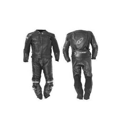 Joe Rocket GPX Type R 2 Piece Leather Motorcycle Motorbike Race Suit - Size 42
