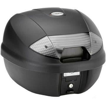 Kappa K30NT Monolock Motorcycle Motorbike Top Box Case 30 Litre Smoke Reflectors