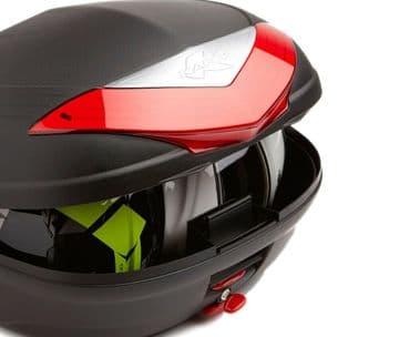Kappa K466N Monolock Motorcycle Motorbike Top Box Case - 46 Litre - Two Helmets