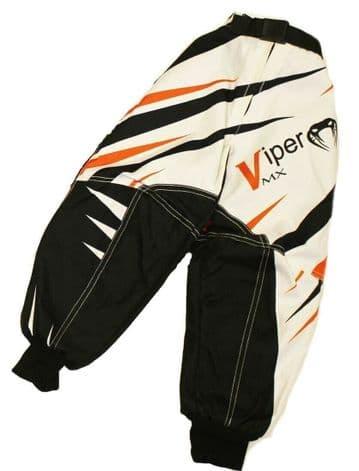 KIDS Child Childrens Motocross Trousers Pants Race MX Quad Sport 7 to 8 - Orange