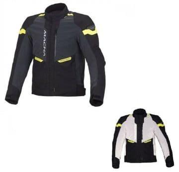 Macna Traction Night Eye Motorcycle Motorbike Reflective CE Armoured Jacket