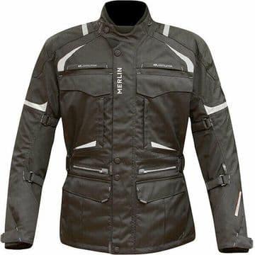 Merlin Neptune Outlast Waterproof Motorcycle Motorbike Jacket CE Armour Black