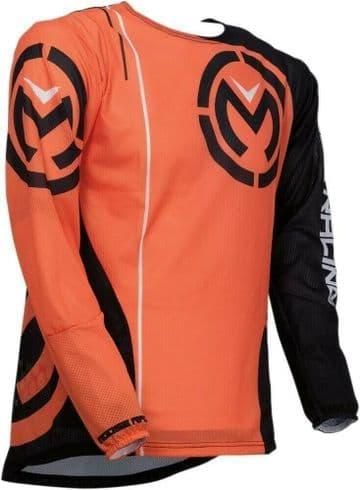 Moose Racing Sahara S19 MX Motocross Off Road Jersey Orange/Black
