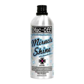 Muc-Off Miracle Shine Motorcycle Motorbike Polish With Carnauba Wax - 500ml