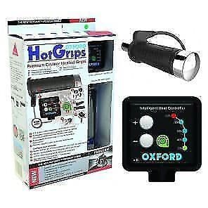 New Oxford Motorcycle Heated Grips HotGrips Premium Cruiser with v8 switch EL800