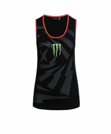 Official Jorge Lorenzo Dual Monster Energy Ladies Womens Motogp Tank Top