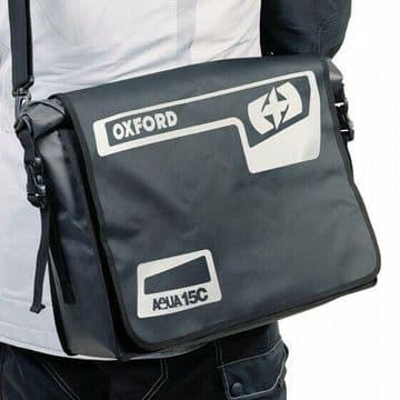 Oxford Aqua 15C Waterproof Motorbike Motorcycle Bike Cycle Commuter Laptop Bag