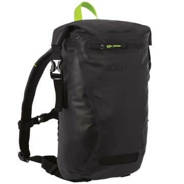 Oxford Aqua Evo 12L Waterproof Motorcycle Motorbike Reflective Backpack - Black