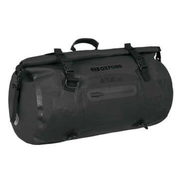 Oxford AQUA T-20 Waterproof Motorcycle Motorbike 20 Litre Roll Bag - Black
