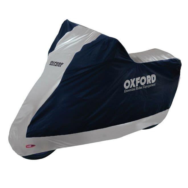 Oxford Aquatex Motorcycle Motorbike Scooter Waterproof Cover Large CV204