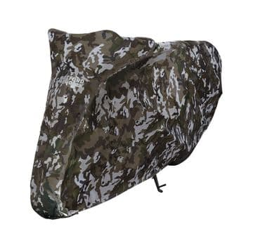 Oxford Aquatex Motorcycle Scooter Waterproof Cover Camo Small CV211