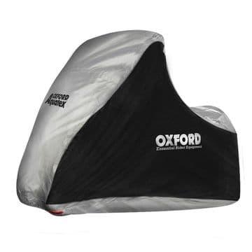 Oxford Aquatex Outdoor Indoor Protective MP3/3 Wheeler Cover Black/Silver CV215