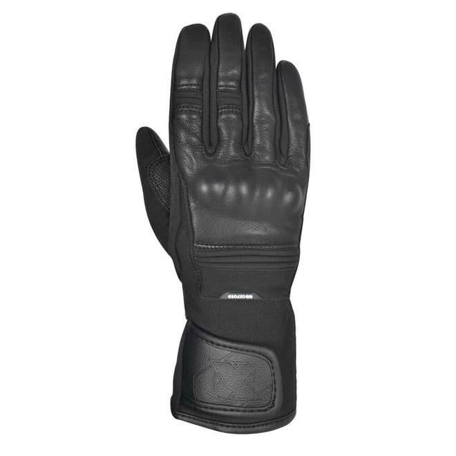 Oxford Calgary 1.0 Waterproof Womens Motorcycle Motorbike Glove Stealth Black