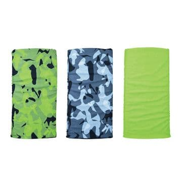 Oxford Comfy 3 Pack Neck Scarf Warmer Tube Bandana Balaclava Havoc Green NW149