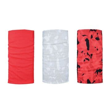 Oxford Comfy 3 Pack Neck Scarf Warmer Tube Bandana Balaclava Havoc Red NW150